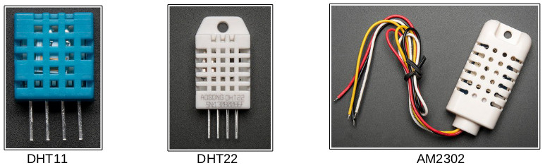 Temperature/Humidity Sensors